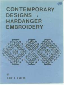 Contemporary Designs in Hardanger Embroidery