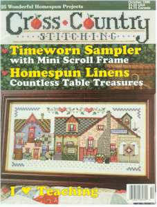 1996 October Issue Cross Country Stitching