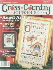 1996 December Issue Cross Country Stitching