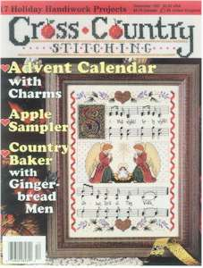 1997 December Issue Cross Country Stitching