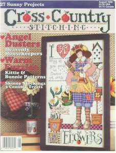 1996 August Issue Cross Country Stitching