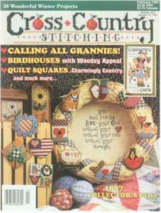 1997 February Issue Cross Country Stitching