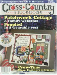 1996 April Issue Cross Country Stitching