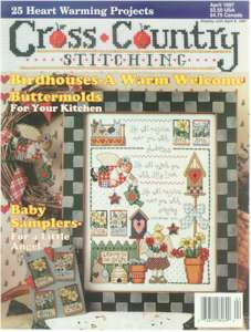 1997 April Issue Cross Country Stitching