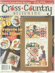 1997 June Issue Cross Country Stitching