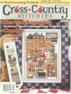 1997 August Issue Cross Country Stitching