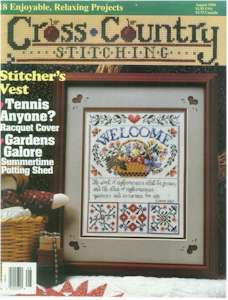 1994 August Issue Cross Country Stitching