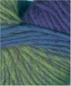 NY Yarns Gypsy - Green Purple #1