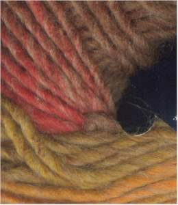 NY Yarns Gypsy - Gold Red Brown #4