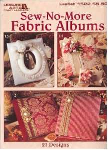 Sew-No-More Fabric Albums