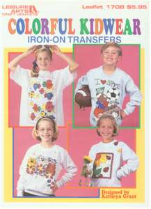 Colorful Kidwear Iron-On Transfers