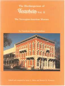The Hardangersom of Vesterheim Vol. II