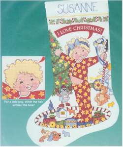 I Love Christmas Stocking - Click Image to Close