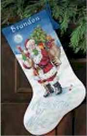 Naughty or Nice stocking