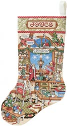 Crafter's Corner Stocking
